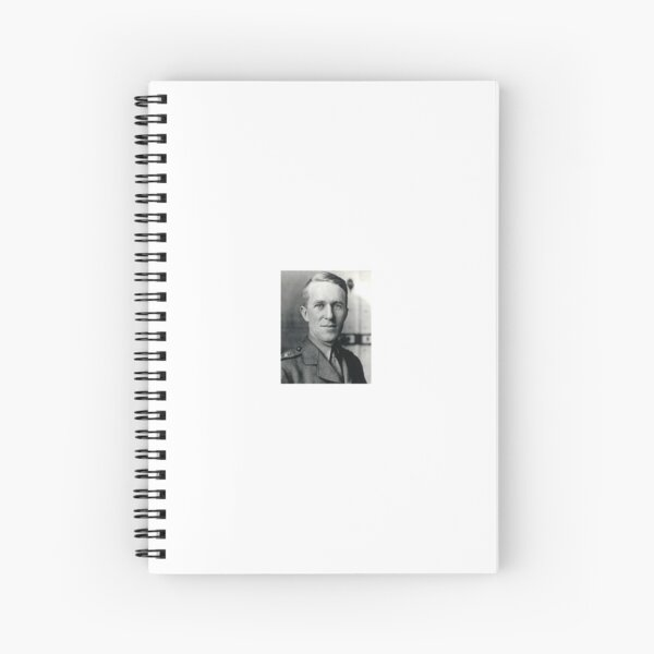 British Army File photo of T.E. Lawrence (1918) Spiral Notebook