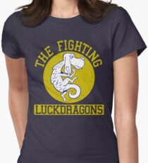The Fighting Luckdragons Womens Fitted T-Shirt