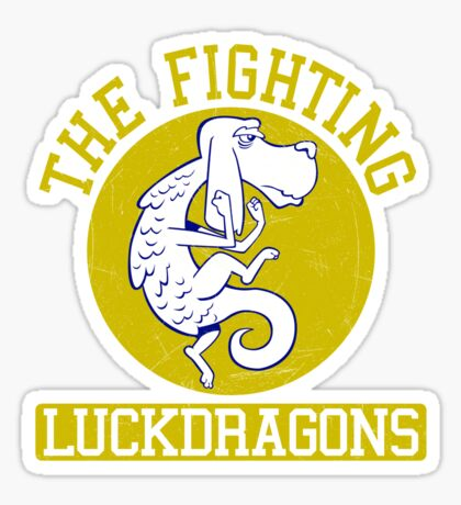 The Fighting Luckdragons Sticker
