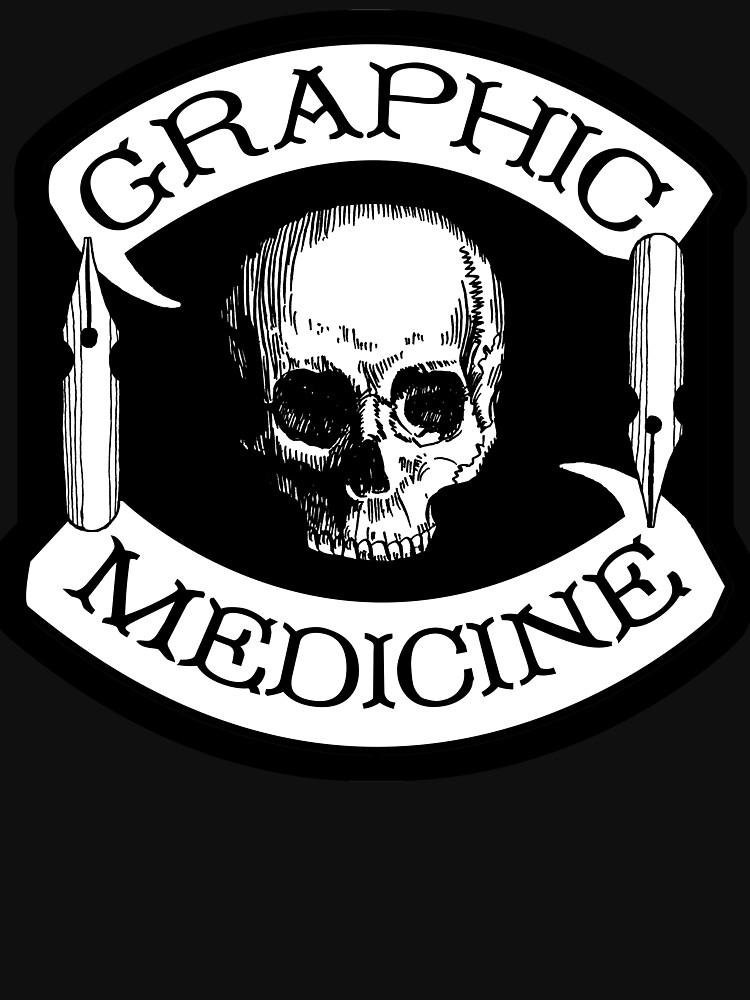 Graphic Medicine 'Colors' logo by GraphicMedicine
