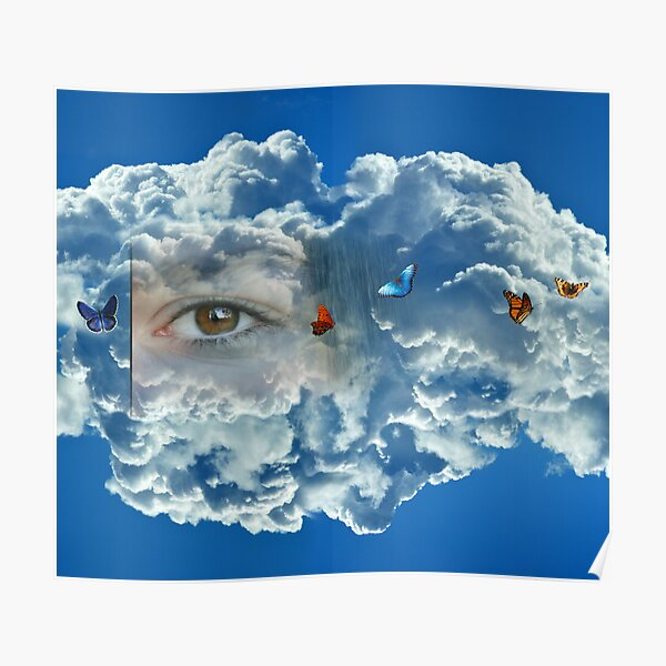 Heavenly Eye Poster