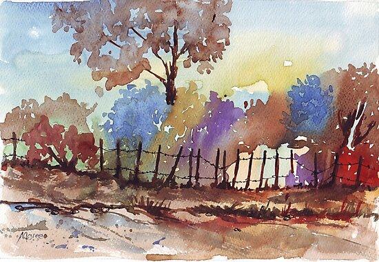 Bluegum view by Maree Clarkson