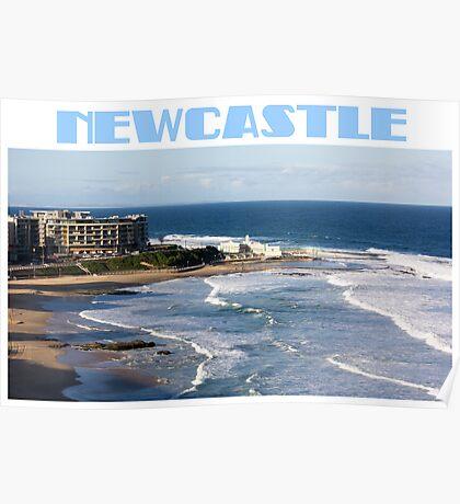 Newcastle Beach Poster