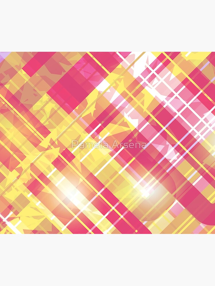 Energetic Metallic Flannel Print by xpressio