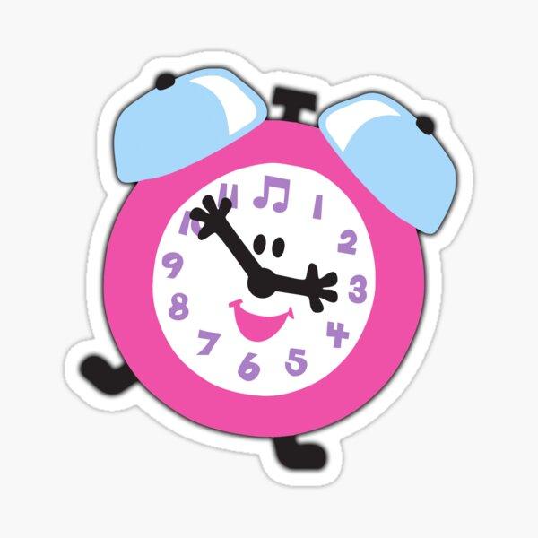 Reloj de pistas de blues Pegatina