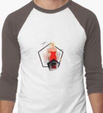 Caprica 6 Men's Baseball ¾ T-Shirt