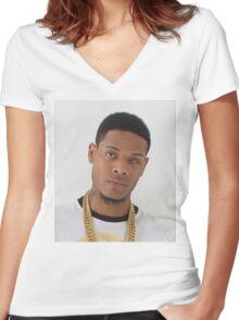 Fetty Wap 2 Women's Fitted V-Neck T-Shirt