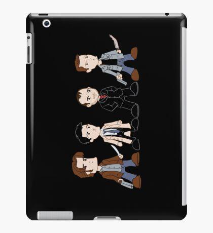Sam, Dean, Castiel, Crowley iPad Case/Skin