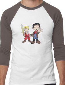Merlin & Arthur Men's Baseball ¾ T-Shirt