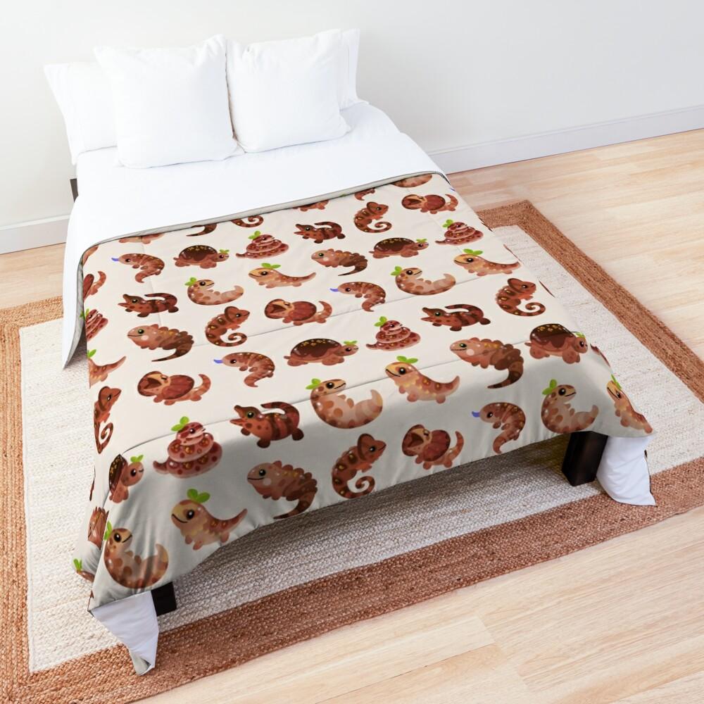 Chocolate Reptiles Comforter