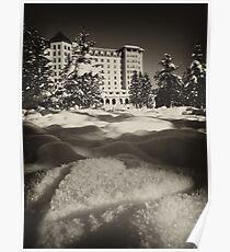 Romantic Lake Louise Poster