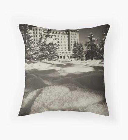 Romantic Lake Louise Throw Pillow