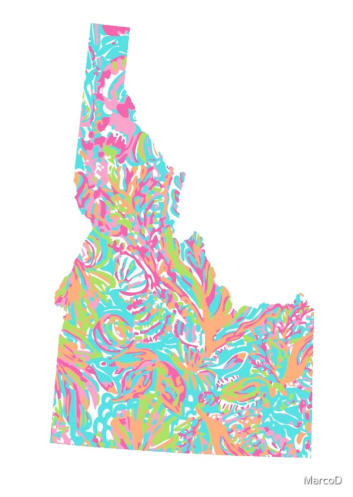 Lilly States - Idaho by MarcoD