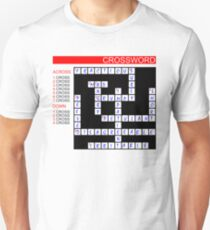 Crossword Unisex T-Shirt