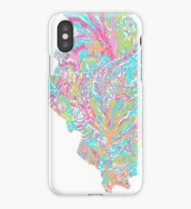 Lilly States - Illinois iPhone Case