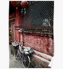 Pagoda Bicycle Poster