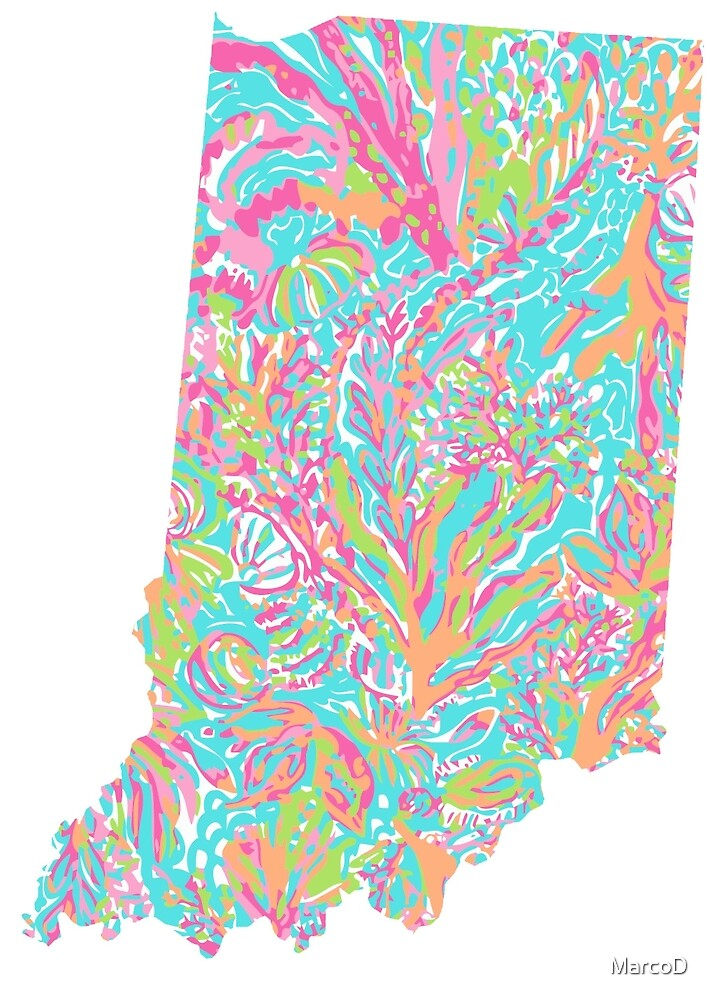 Lilly States - Indiana by MarcoD