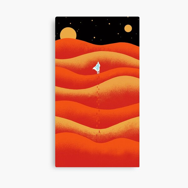 Dune one cover Canvas Print