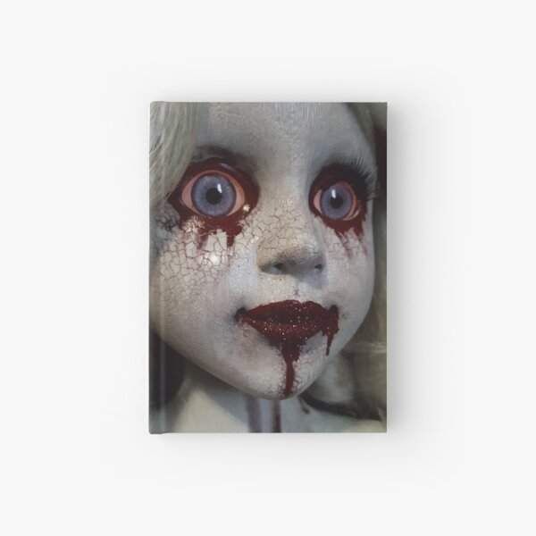 Zombie Horror Doll ~ Lady Scream  Hardcover Journal