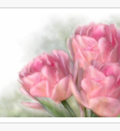 Angelique Tulips Sticker