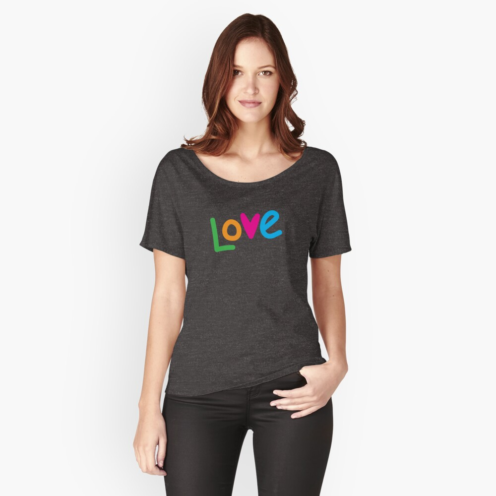 Love color Relaxed Fit T-Shirt