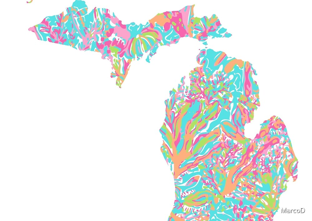 Lilly States - Michigan by MarcoD