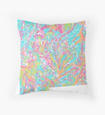 Lilly States - New Mexico Throw Pillow