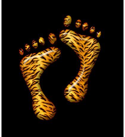 Tiger Feet #1 Sticker