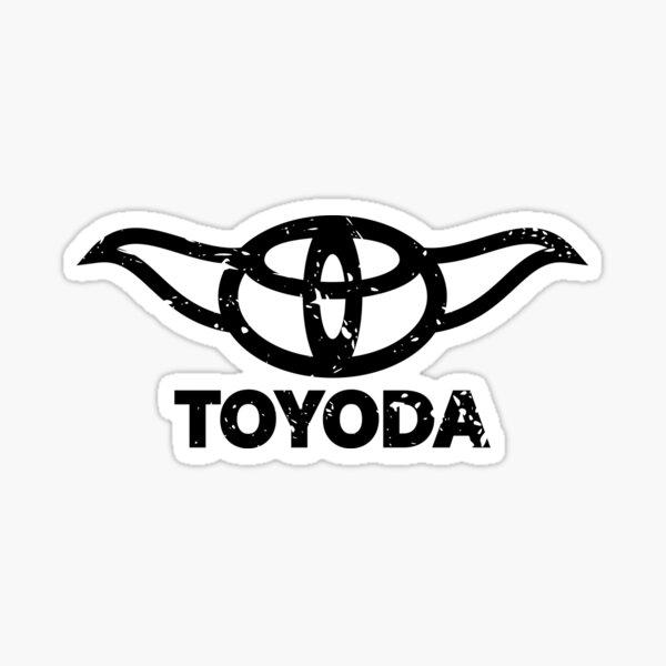 Toyoda Distressed Sticker