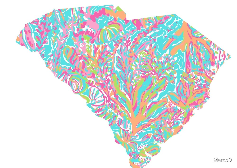 Lilly States - South Carolina by MarcoD