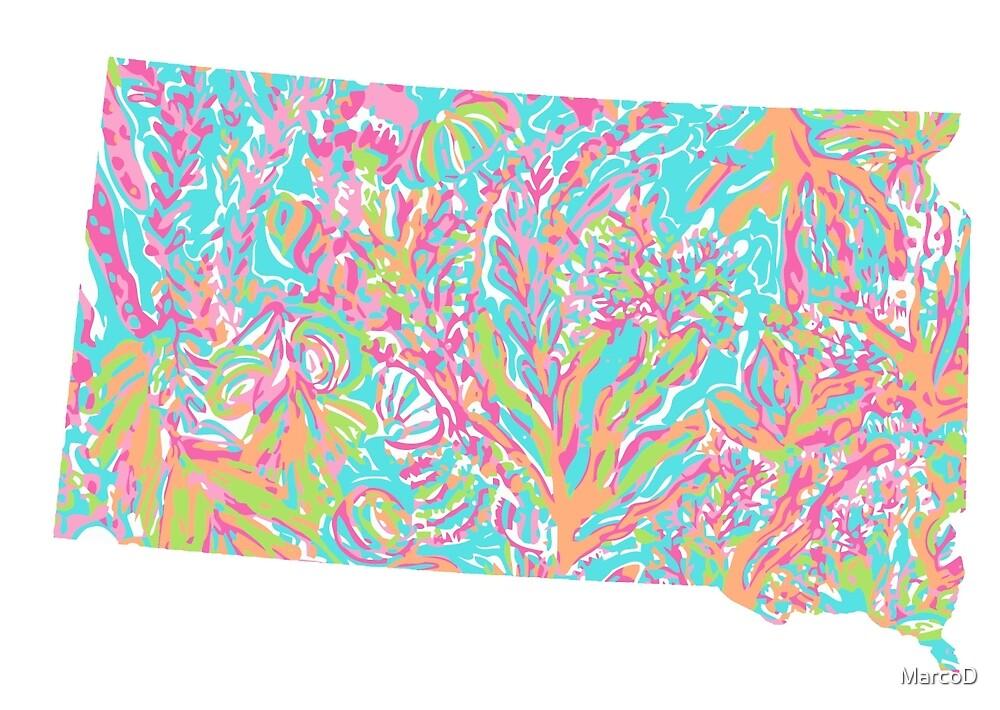 Lilly States - South Dakota by MarcoD