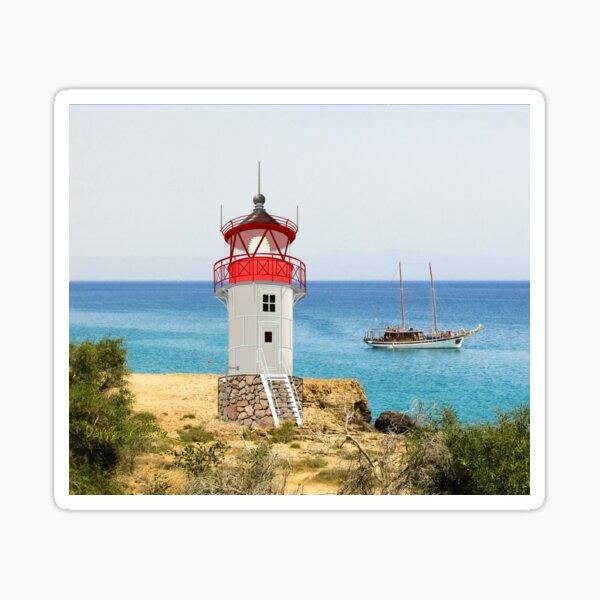 Dornbusch Lighthouse, Hiddensee, Baltic Sea Coast,  Sticker
