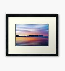 Headland Dawn Framed Print