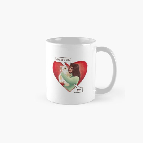 Valentine Cat Classic Mug