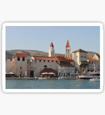 Trogir waterfront Sticker