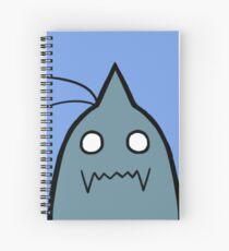 Peek-a-Boo Alphonse Spiral Notebook