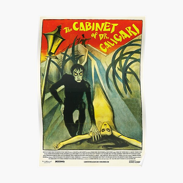 Cabinet Of Dr. Caligari, The (1920) 1 Poster