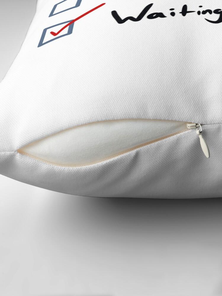 Alternate view of Waiting for Mineta My Hero Academia Floor Pillow