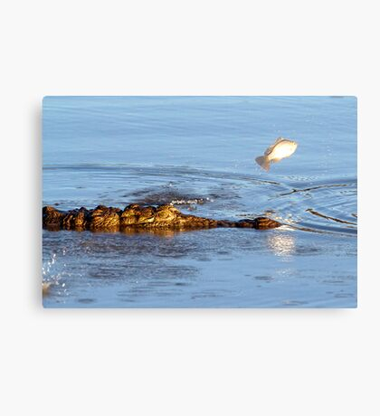 Flee ! Canvas Print