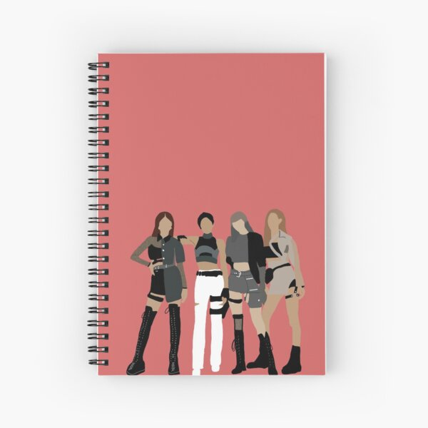 BlackPink Kill This Love Color Art Spiral Notebook