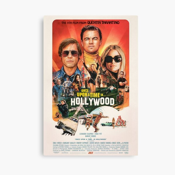 Hollywood Impression sur toile
