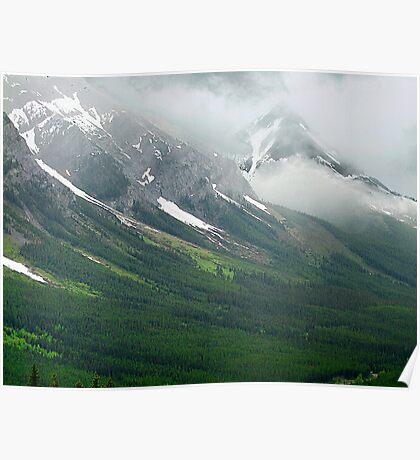 Misty Mountain Realm Poster