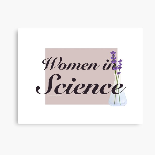 Women in Science Canvas Print