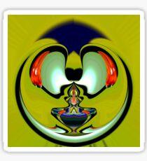 Aladdin lamp Sticker