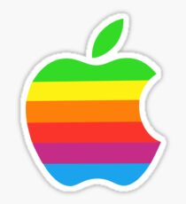 Apple Color iPhone Sticker