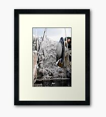 Ice  ~  Commercial Fishing Vessel  Framed Print