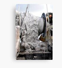 Ice  ~  Commercial Fishing Vessel  Canvas Print