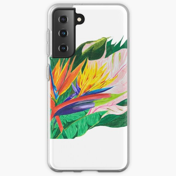 Bird of Paradise Samsung Galaxy Soft Case