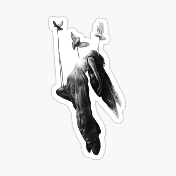 DEMI LOVATO ANGEL TATTOO Sticker