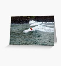 Any Swell Will Do Greeting Card